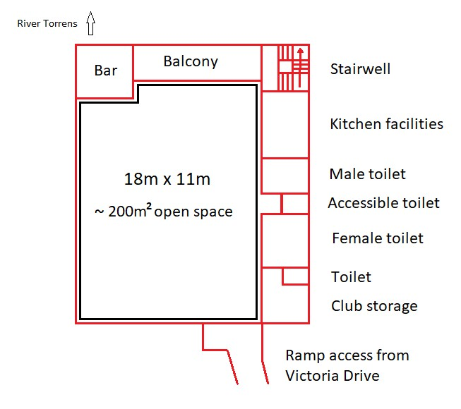 TRC Club rooms